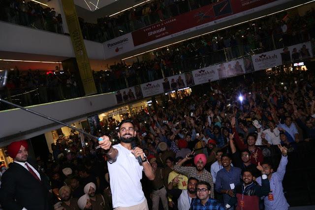 Cricket Icon Virat Kohli visits Smaaash, Ludhiana