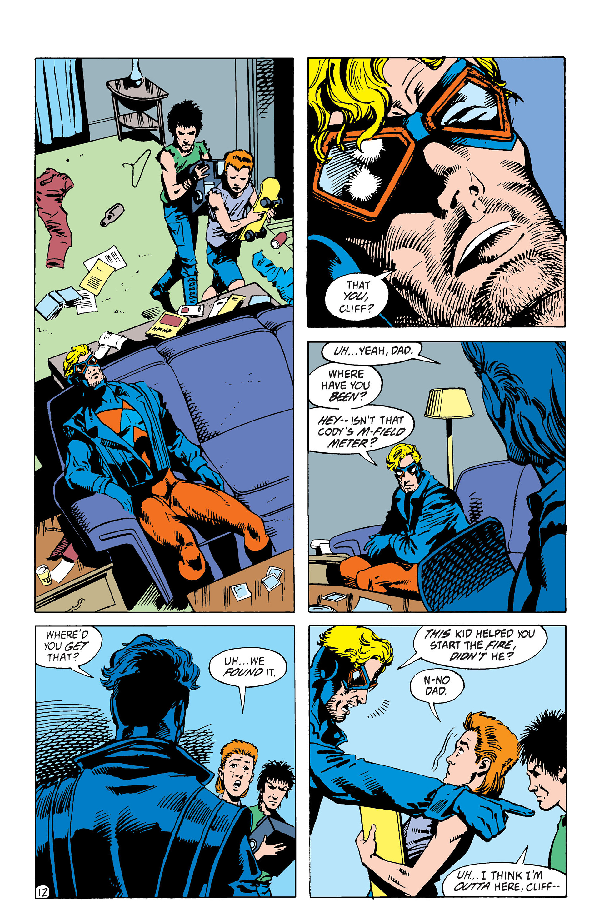 Read online Animal Man (1988) comic -  Issue #39 - 13