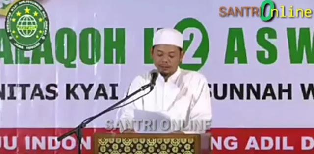 Komunitas Kyai Aswaja Jateng Percaya <i>Ahlusunnah Wal Jamaah</i> di Tangan Prabowo-Sandi
