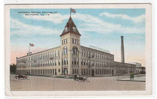 Towns And Nature Belvidere IL National Sewing Machine Company Mesmerizing National Sewing Machine Company History