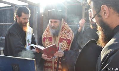 ИПЦ Греции: Освящение фундамента будущего церковного комплекса в Аспропиргосе. ФОТО