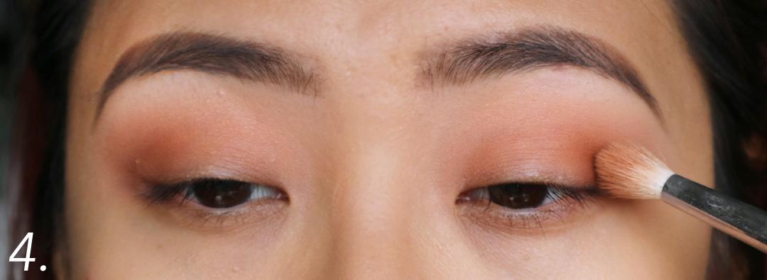 Purple Smokey Eye Pictorial using Makeup Geek Cosmetics Eyeshadows