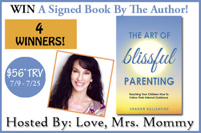Enter the The Art of Blissful Parenting Signed Book Giveaway! 4 Winners! ($56+ TRV). Ends 7/25
