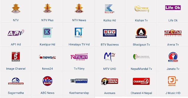 List of Nepali Television Stations in Nepal