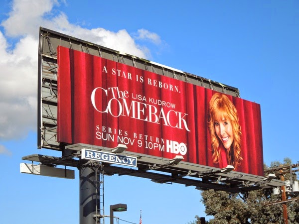 The Comeback series return HBO billboard