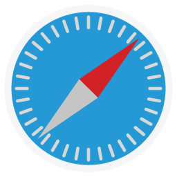 Apple Safari Folder Icon