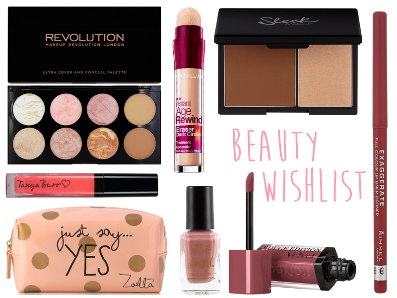 Drugstore/Highstreet Beauty Wishlist 2015 Blog