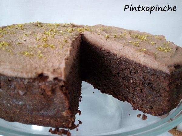 pastel, chocolate, pastel de chocolate sin gluten, lima, trufa, vainilla, postres, recetas sin gluten