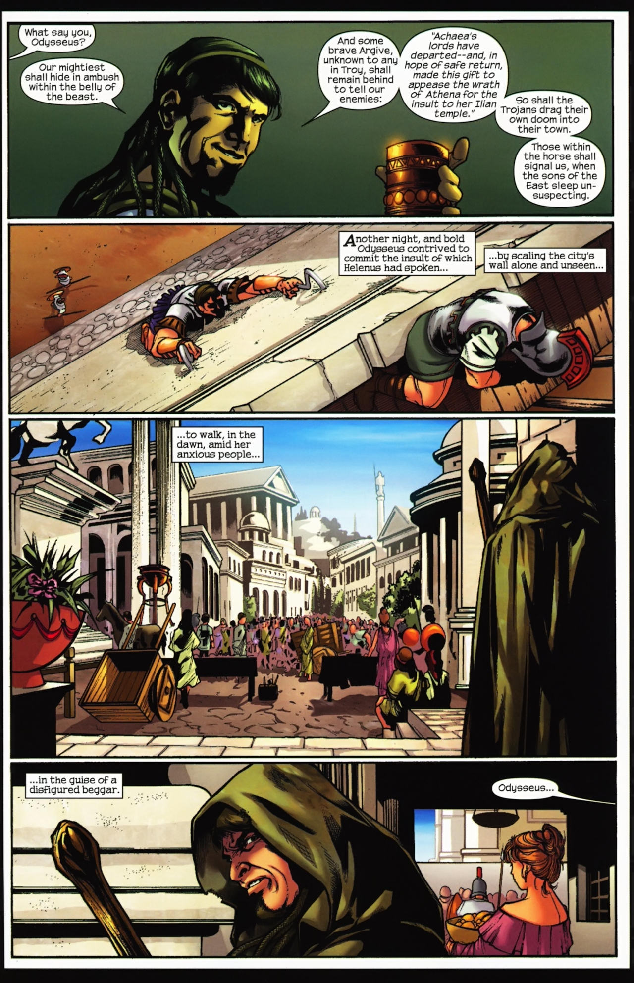 Read online Trojan War comic -  Issue #4 - 28