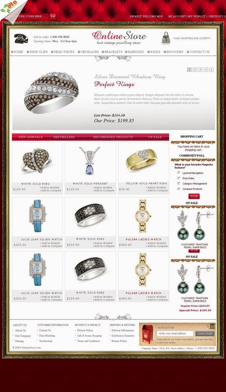 thiết kế website bán hàng nhẫn cưới chuyên nghiệp