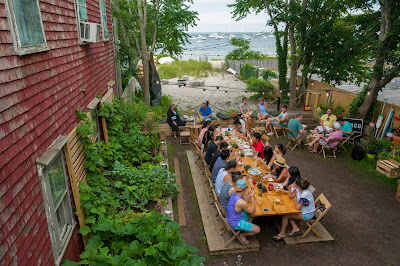 The Canteen, Ptown, Provincetown, healthy, outdoor seating,