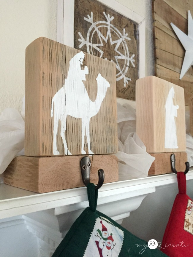 Nativity Stocking Hangers, MyLove2Create