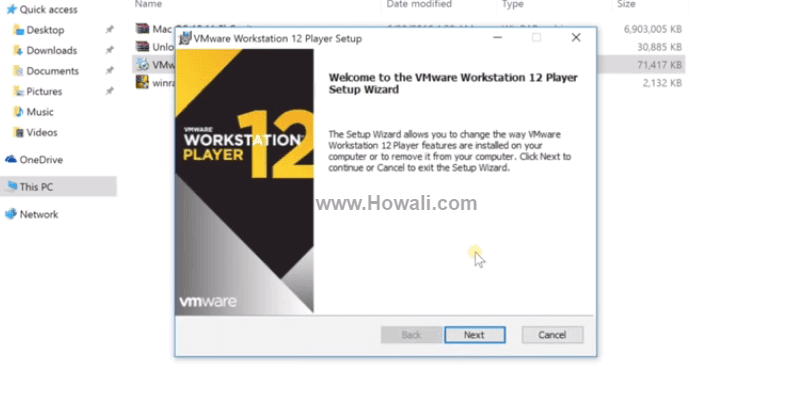install mac on vmware workstation