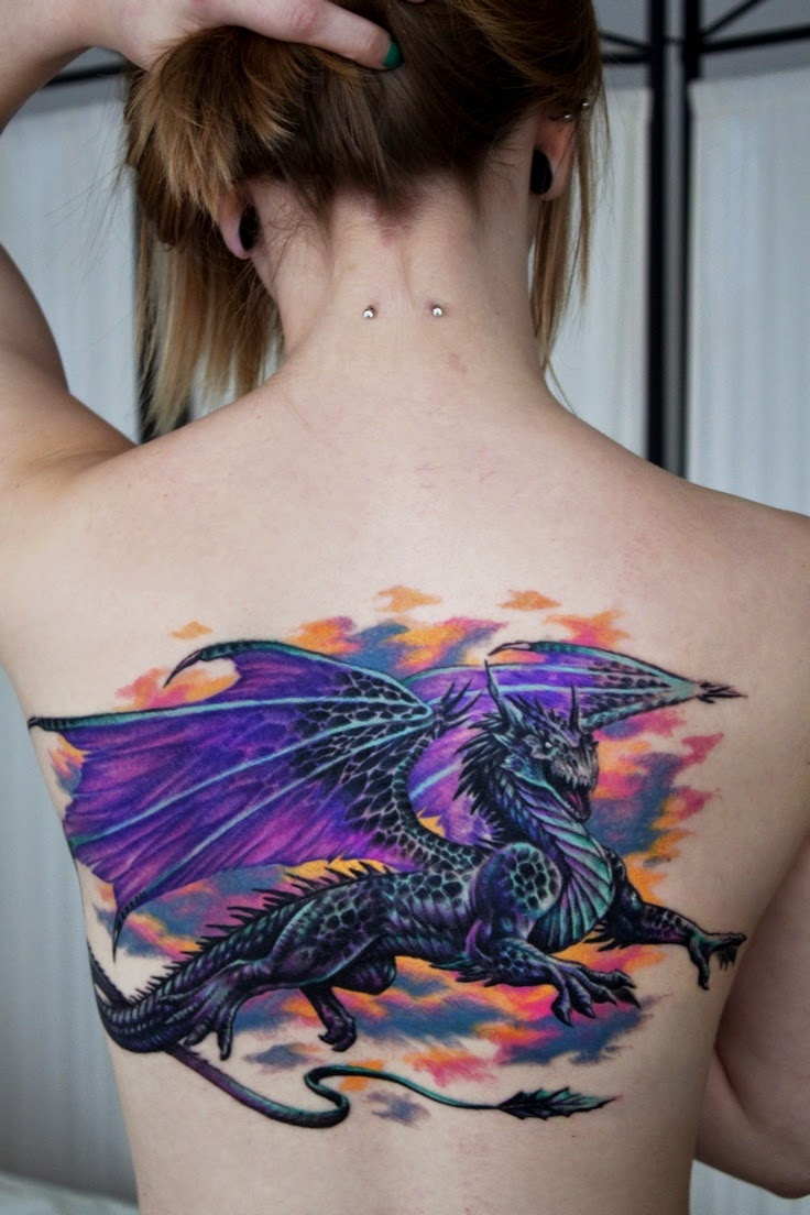 20 Amazing Dragon Tattoos For Women