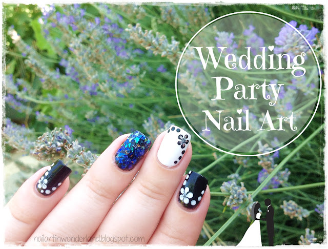 Wedding Party Nail Art