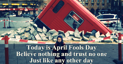 100 April Fool Best Pranks Status in English