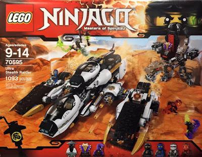 TOYS : JUGUETES - LEGO Ninjago  70595 Ultra Stealth Raider  Producto Oficial 2016 | Piezas: 1093 | Edad: 9-14 años  Comprar en Amazon España & buy Amazon USA