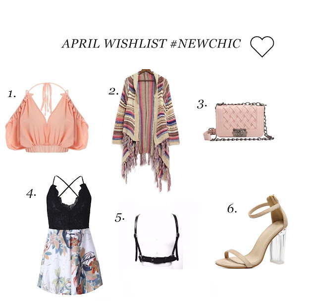 KWIETNIOWA WISHLISTA #NEWCHIC / APRIL WISHLIST #NEWCHIC