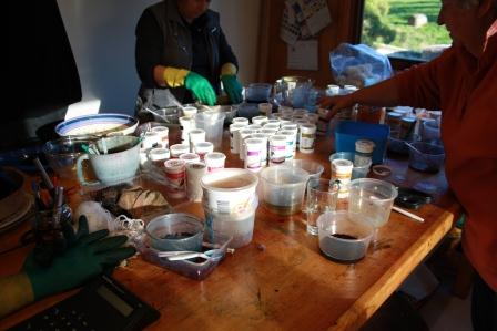 Bird In Hand Woking >> handmadebyrowena: Dyeing Workshop with Wendy Koolhof