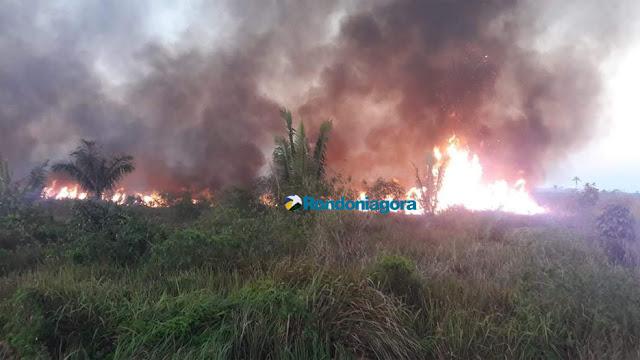 Guajará-Mirim e Nova Mamoré estão entre os municíos de RO com maior registros de queimadas em 2018