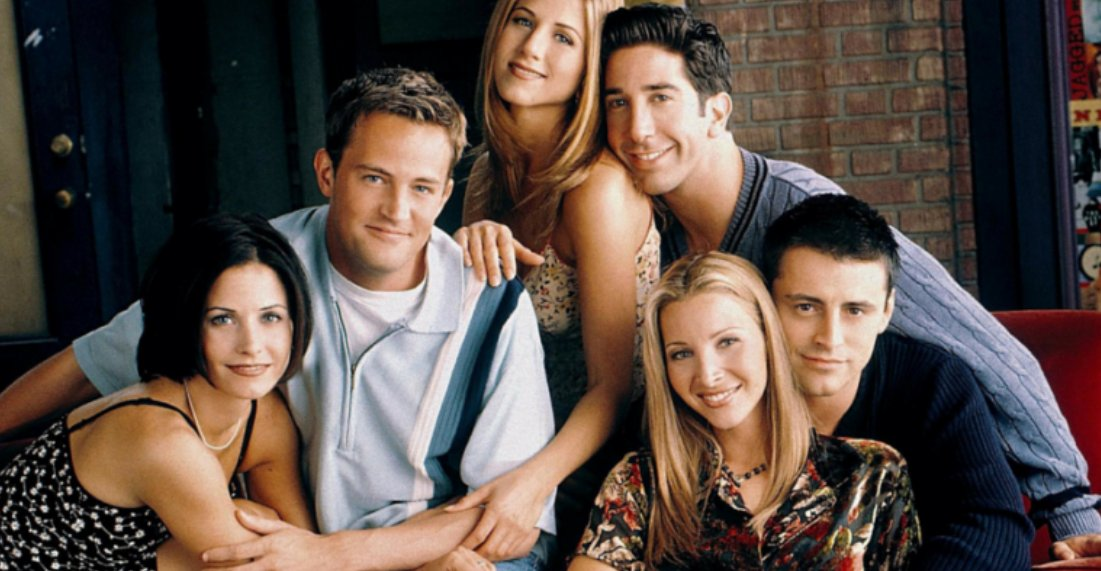 Friends American television sitcom photo gallery
