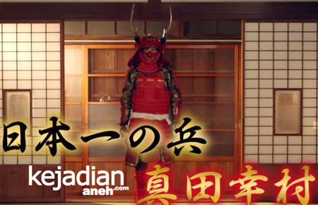 Model Samurai Berbikini 4 Model Seksi Perankan Samurai Jepang