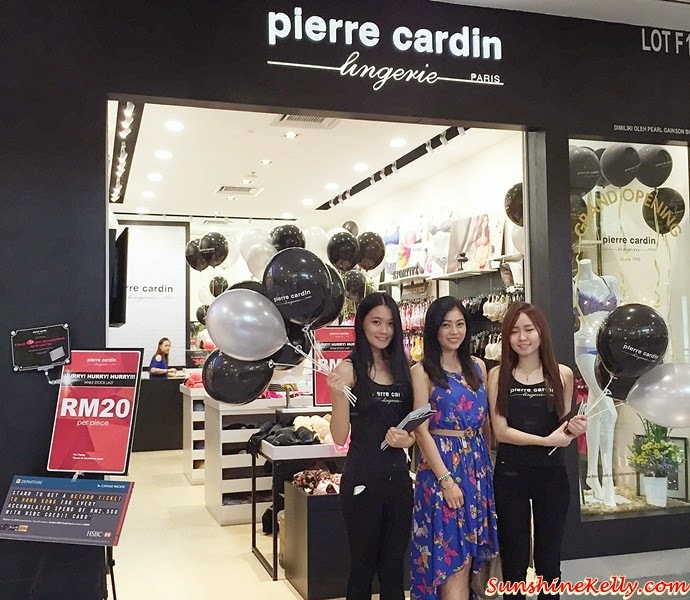 Pierre Cardin Grand Opening @ Sunway Pyramid, Pierre Cardin Malaysia, Pierre Cardin Grand Opening, Sunway Pyramid