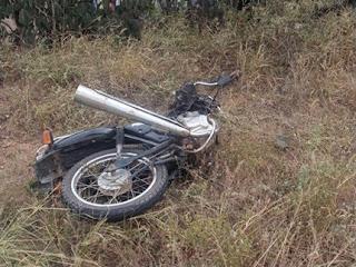 Pai e filho morrem após colisão ente duas motocicletas na zona rural de Juazeirinho