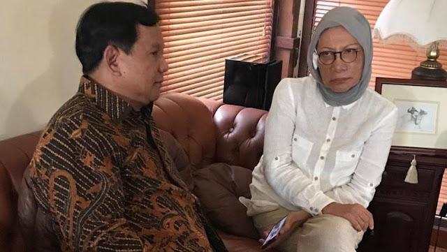 Kata Prabowo soal Ada-Tidaknya Motif Politik di Penganiayaan Ratna