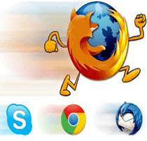 تحميل أداة تسريع متصفح فايرفوكس و جوجل كروم SpeedyFox
