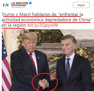 Macri coincidió en privado con trump sobre la