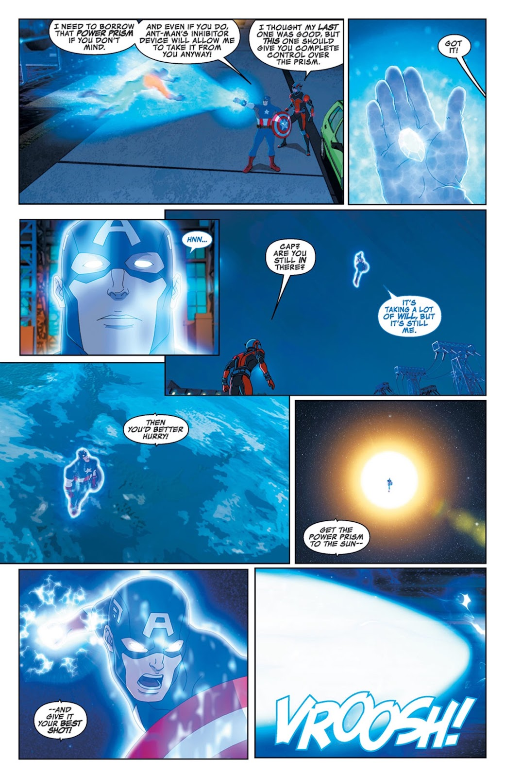 Read online Marvel Universe Avengers Assemble Season 2 comic -  Issue #14 - 14