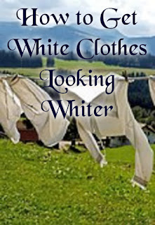 How to Get White Clothes Looking Whiter