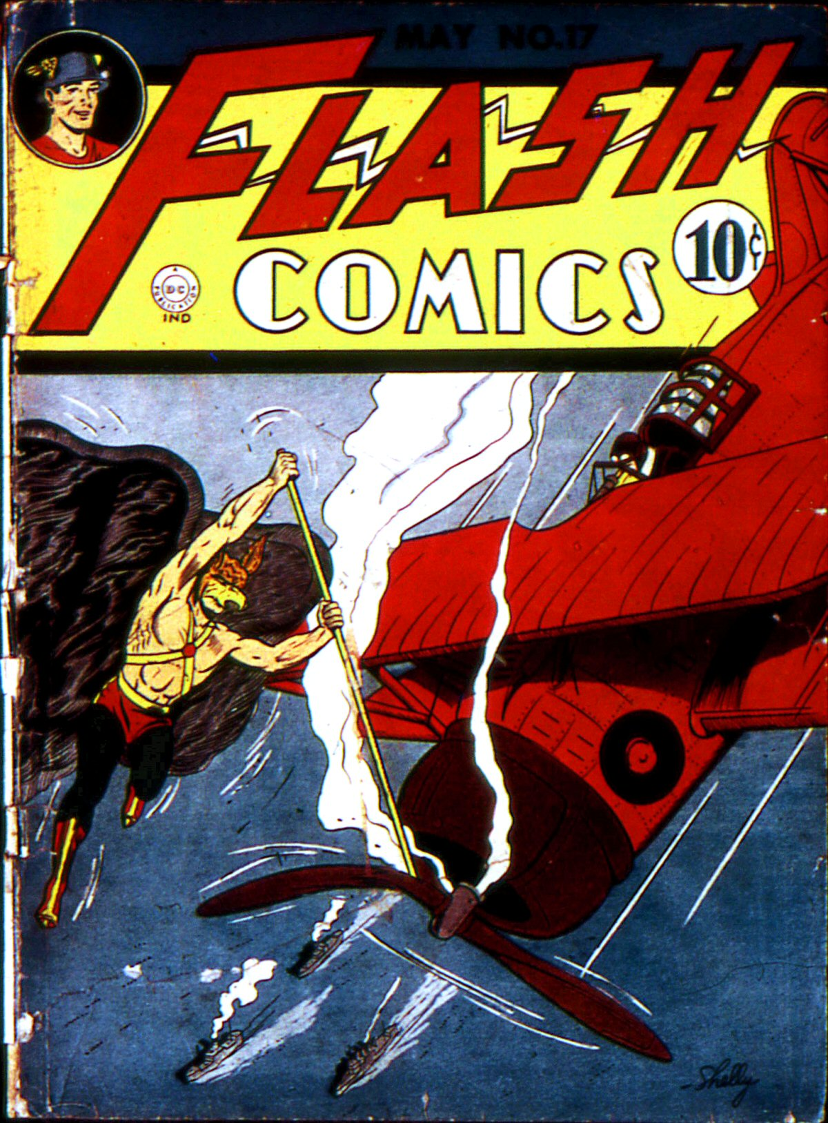 Flash Comics issue 17 - Page 1