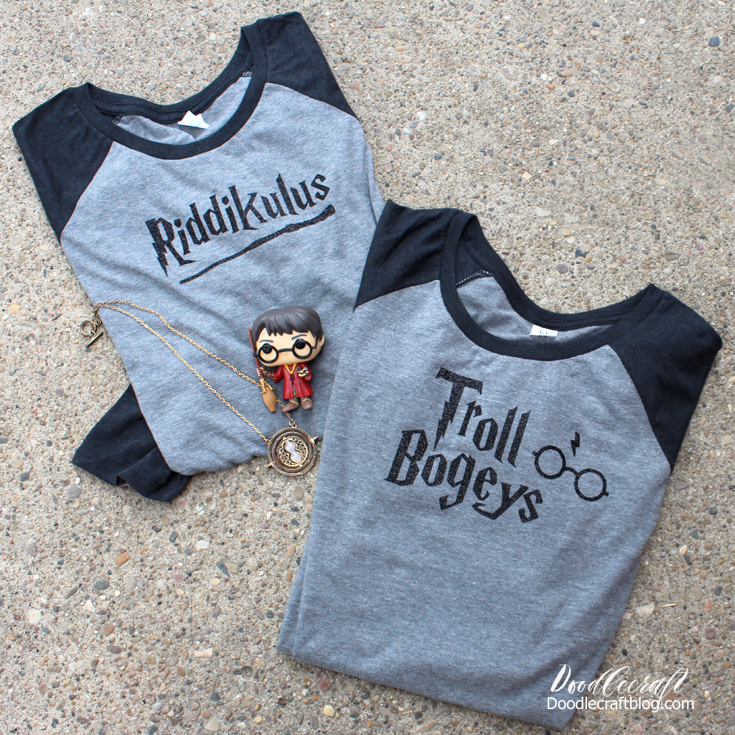 f974d0d85 Harry Potter Raglan Shirts using Cricut Explore Air 2!