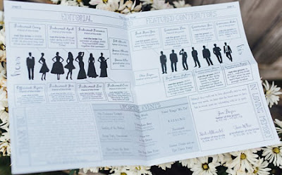 http://offbeatbride.com/newspaper-wedding-programs/