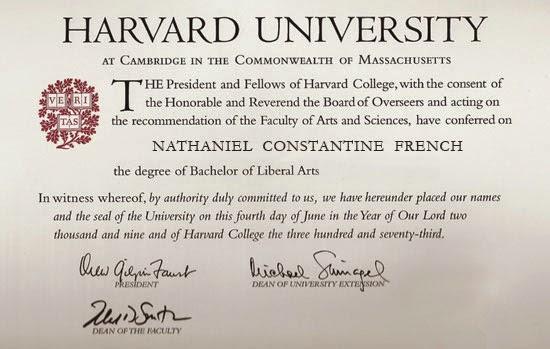 fake phd degree template