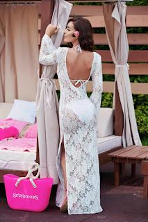 Rochia StarShinerS Sensual Summer White 3