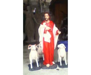 Patung Yesus Gembala