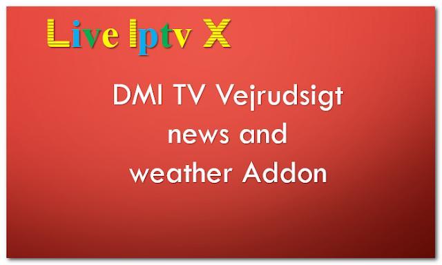 DMI TV Vejrudsigt  news and weather Addon