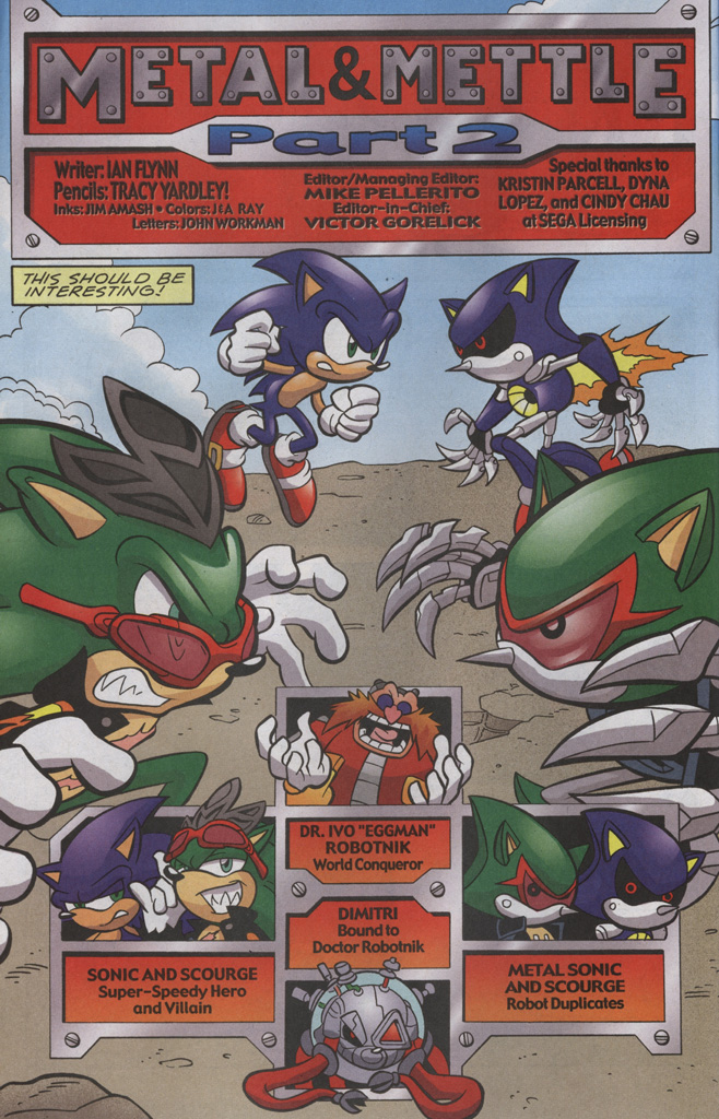 Read online Sonic The Hedgehog comic -  Issue #192 - 3