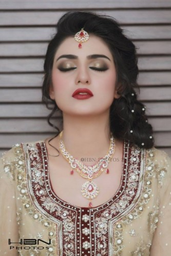 Most Innocent Pakistani Girl Sara Khan Bridal Photo Gallery. - Read Banking