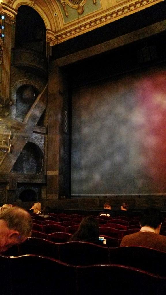 Stage of Les Misérables Queen's Theatre