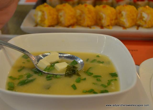 Miso Soup in Moshi Dubai