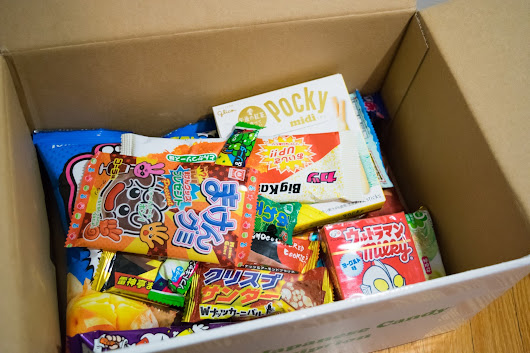 Wowbox Japanese Candy Subscription