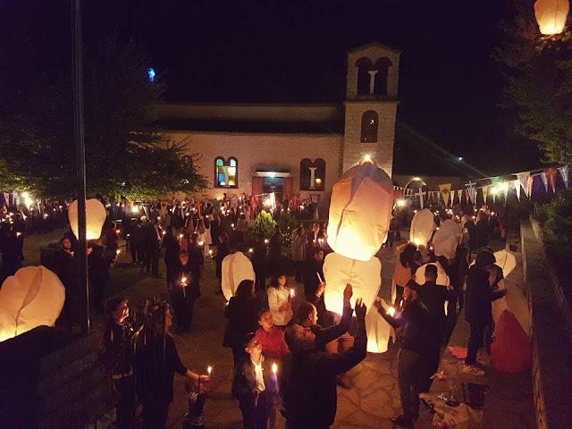 Πρέβεζα: Μαγευτική η Ανάσταση με τα Φαναράκια στον Κερασώνα Φιλιππιάδας