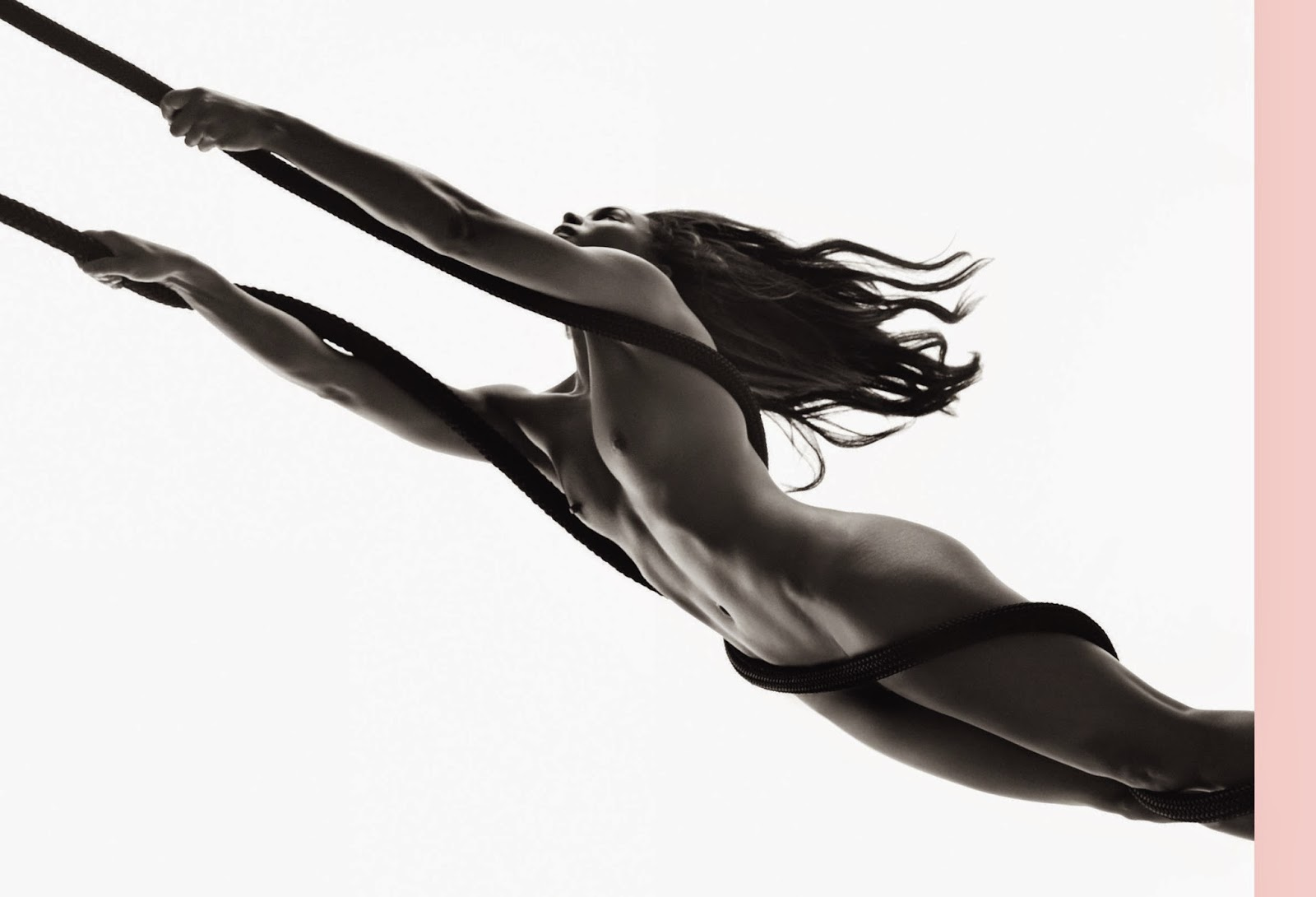 Zoe Saldana hot naked Posed Nudes for Womens Health UK