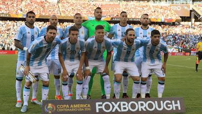 Daftar Skuad Pemain Timnas Argentina 2016