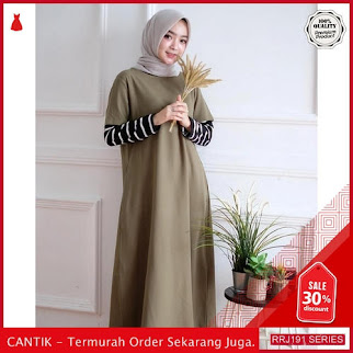 Jual RRJ191D124 Dress Monel Maxy Wanita Sk Terbaru Trendy BMGShop