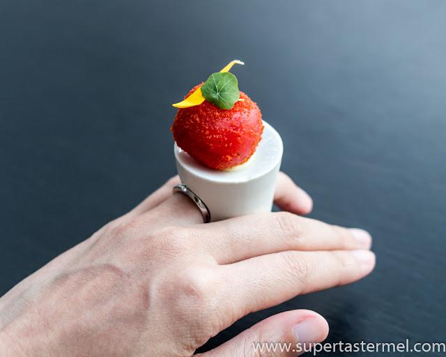 De Librije tomato ring